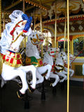 Carousel horse. Five horses on a carousel shoot in Japan Royalty Free Stock Images