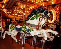Carousel Horse. Seattle Center Carousel horse taken November 2004 stock photos