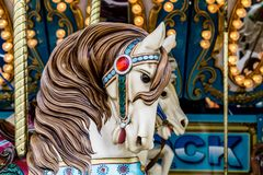 Free Carousel Horse Royalty Free Stock Photography - 57845237