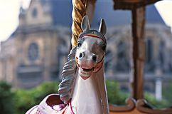 Carousel horse Royalty Free Stock Image