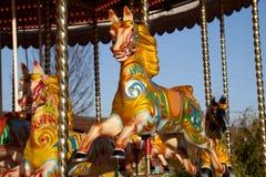 Carousel horse Stock Photography