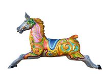 Carousel Horse. stock photography
