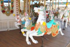 Carousel Horse. At the Amusement Park Royalty Free Stock Photos
