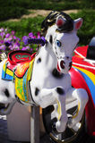 Carousel horse for children Royalty Free Stock Photo