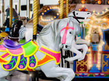 Carousel Horse Close Up Stock Image