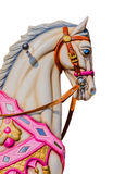 Carousel horse isolated Stock Photo