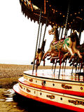 Carousel with horses Royalty Free Stock Image