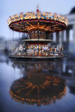 Carousel with horses Stock Photos