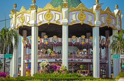Carousel. Horses on a carnival in bangkok siam Stock Image