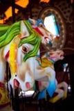 Carousel Horses. Ceramic Horses on a carousel Royalty Free Stock Photo