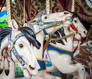 Carousel horses Royalty Free Stock Photography