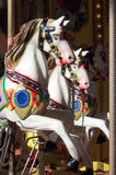 Carousel with horses Royalty Free Stock Photos