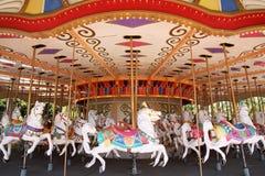 Carousel horses Stock Photos