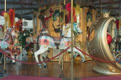 Carousel horses Royalty Free Stock Images