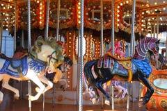 Carousel horses Royalty Free Stock Photography