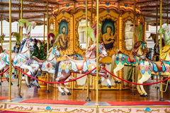 Carousel In Florence Stock Image