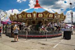 Carousel, karuzela/ Obrazy Stock