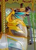 Carousel Końska głowa Obrazy Royalty Free