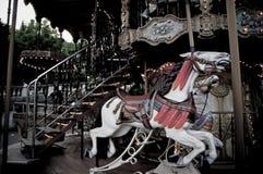 Carousel Koń Zdjęcia Stock