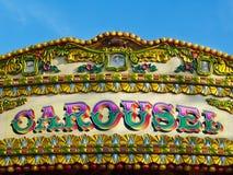 carousel kolorowy szczegółu znak Obrazy Stock