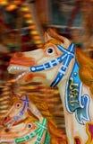 carousel konie Zdjęcie Royalty Free