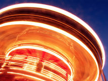 Carousel Lights Stock Photography