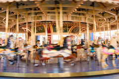 Carousel at Luna Park, Melbourne Stock Photo