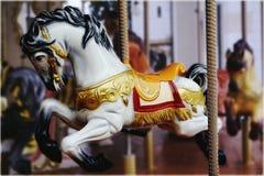 Carousel Mały koń Obrazy Stock