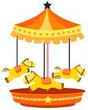 Carousel merry-go-round Stock Photography