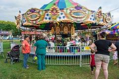 Carousel / Merry-Go-Round Stock Image