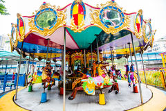 Carousel Merry Go Round Stock Image