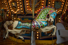 Carousel Merry go Round. In Hong Kong Royalty Free Stock Photography