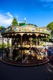 Carousel in Montmartre, Paris Stock Photo