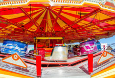 Carousel in motion Stock Images