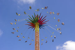 carousel munich oktoberfest Стоковая Фотография RF