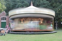 Carousel in museum Stock Photography