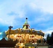 Carousel. Near the Eiffel Tower Stock Image