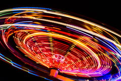 Carousel at night Stock Photo