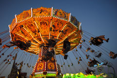 Carousel at Oktoberfest in Munich Royalty Free Stock Photos