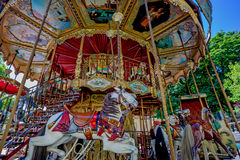 Carousel in Paris Royalty Free Stock Image