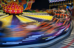 Carousel in Park Stock Image
