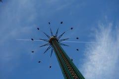 Carousel in Prater Park Vienna Stock Image