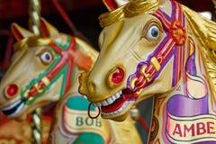 carousel przejażdżki Obrazy Stock