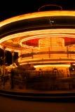 Carousel przy nocą Obrazy Stock