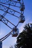 Carousel przy wieczór zdjęcia royalty free