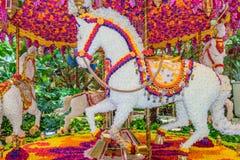 Carousel przy Wynn hotelem i kasyno lobbujemy Zdjęcia Stock