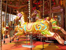Carousel ride Royalty Free Stock Photography