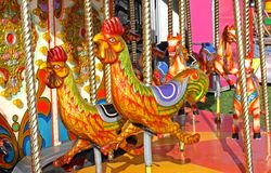 Carousel Ride. Royalty Free Stock Images
