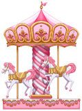 A carousel ride Royalty Free Stock Photo