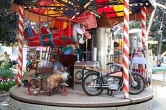 carousel rocznik Obrazy Royalty Free